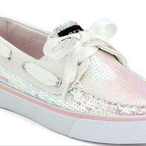 Sperry Bahama Iridescent Boat Shoes